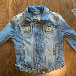 Abercrombie and Fitch jean jacket.